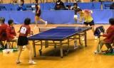 【卓球】 鄈詩暢VS中島未早希2/4 東京選手権2012