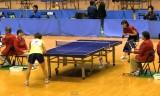 【卓球】 鄈詩暢VS中島未早希3/4 東京選手権2012