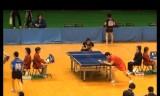 【卓球】 時吉佑一 VS 張一博2/2 東京選手権2012
