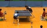 【卓球】 神巧也 VS 松原公家 東京選手権2012
