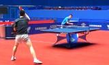 馬龍と許の引き合い練習 世界卓球2012