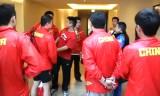 【卓球】 中国選手団の練習やホテル 世界卓球2012