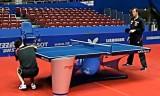 【卓球】 オフチャロフの練習映像2/3 世界卓球2012
