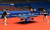 【卓球】 オフチャロフの練習映像1/3 世界卓球2012