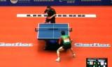 【卓球】 モンテイロVSカラカセビッチ 世界卓球2012