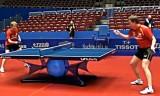 ズースとバウムの練習映像 世界卓球2012