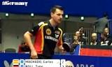 【卓球】 ティモボル VS マチャド 世界卓球2012