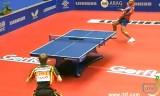 【卓球】 バウム(ドイツ)VSコルベル 世界卓球2012