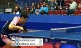 【卓球】 スカチコフVSプリモラッツ 世界卓球2012