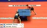 【卓球】 スミルノフVSガシナ(クロアチア) 世界卓球2012
