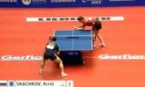 【卓球】 スカチコフVSガシナ(クロアチア) 世界卓球2012