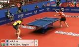 【卓球】 馬琳 VS パーソン(スウェーデン) 世界卓球2012