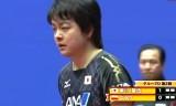 【卓球】 岸川聖也VSゴラク(ポーランド) 世界卓球2012