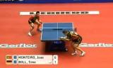 【卓球】 ティモボル VS モンテイロ 世界卓球2012