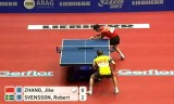 【卓球】 張継科VSスベンソン(スウェーデン)世界卓球2012
