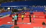 【卓球】 開会式での歌姫の歌とダンス 世界卓球2012