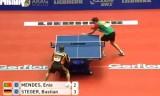 シュテガーVSメンデス世界卓球2012