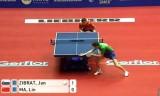 【卓球】 中国VSスロベニア馬琳の試合 世界卓球2012