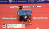 【卓球】 バウム(ドイツ)VSペテ(セルビア) 世界卓球2012
