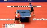 【卓球】 王皓(中国)VS李静(香港) 世界卓球2012