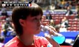 【卓球】 石川佳純VSアバ(フランス) 世界卓球2012