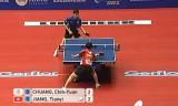 【卓球】 荘智淵(台湾)VS江天一(香港)世界卓球2012