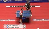 【卓球】 ガルドスVSバルトススッチ 世界卓球2012