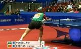 【卓球】 イェレルVSフレイタス(POR) 世界卓球2012