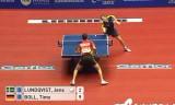 【卓球】 ティモボルVSルンクウィスト 世界卓球2012