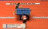 【卓球】 石川佳純VSキムキョンア(全て)世界卓球2012
