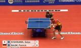 【卓球】 岸川聖也VSバウム(ドイツ)1/4世界卓球2012