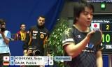 【卓球】 岸川聖也VSバウム(ドイツ)4/4世界卓球2012
