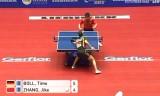 【卓球】 張継科VSティモボル(ドイツ) 世界卓球2012