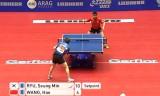 【卓球】 王皓(中国)VS柳承敏(韓国) 世界卓球2012