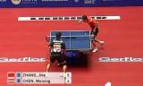 【卓球】 張継科(中国)VS陳衛星(AUT) 世界卓球2012