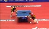 【卓球】 バウムVSイェレル(スウェーデン) 世界卓球2012