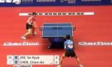 【卓球】 朱世赫(韓国)VS陳建安(台湾)世界卓球2012