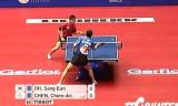 【卓球】 呉尚垠(韓国)VS陳建安(台湾)世界卓球2012