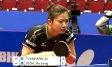 【卓球】 福原愛(日本)VS石賀浄(韓国)世界卓球2012
