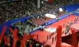 【卓球】 会場内の飛行船も見れる☆ 世界卓球2012