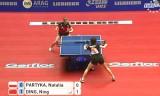 【卓球】 中国対ポーランド戦(女子) 世界卓球2012