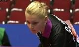 【卓球】 郭躍(中国対ルーマニア戦) 世界卓球2012