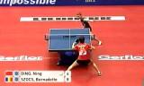 【卓球】 丁寧(中国対ルーマニア戦) 世界卓球2012