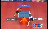 【卓球】 許VS江天一(香港) アジアカップ2012