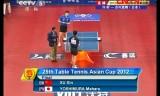 【卓球】 許VS吉村真晴(決勝) アジアカップ2012