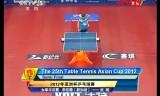【卓球】 武揚VSリジャウェイ アジアカップ2012