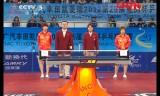 【卓球】 劉詩文VS武揚(決勝) アジアカップ2012