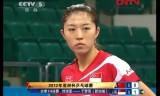 【卓球】 劉詩文VSユモンユ(SIN) アジアカップ2012