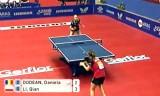【卓球】 ドデアンVSリーチャン 世界卓球2012
