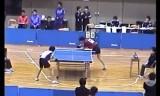 【卓球】 御内健太郎VS田代祐大2/2 学生選抜2010